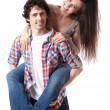Stock Photo: Young Couple Series
