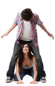 Playful Couple — Stock Photo