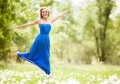 Happy woman — Stock Photo