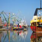 Shipbuilding industry — Stock Photo