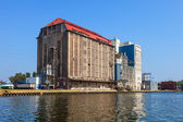 Old grain elevator — Stockfoto