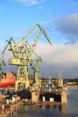 судостроительная промышленность — Стоковое фото