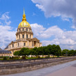 Stock Photo: Les Invalides church in Paris, France.