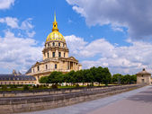 Les Invalides church in Paris, France. — Stock Photo