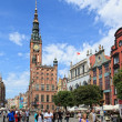 Gdansk during the Euro 2012 Championship - Stock Photo