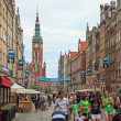 Gdansk during the Euro 2012 Championship — Stock Photo