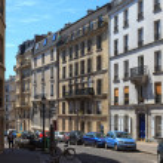 Charming streets of Paris — Stock Photo #11431349