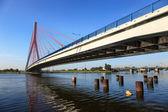 Hanging bridge in Gdansk, Poland — Stock Photo