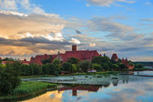 Castle in Malbork — Stock Photo