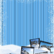 Winter frame - Stockfoto