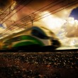 Stock Photo: Modern train transportation