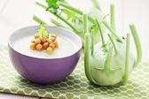 コールラビ スープ — ストック写真