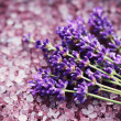 Lavender bath salt — Stock Photo #11245726
