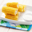 Sweet corn - Stock Photo
