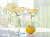 Lemon Drop Martini — Stock Photo