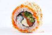 Sushi on a white background — Stock Photo