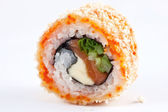 Sushi sur fond blanc — Photo