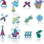 Christmas utilities — Stock Vector #11010581