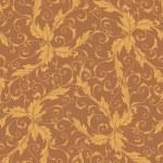 Classic foliage swirl seamless pattern — Stock Vector #11042556
