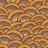 Natuurlijke pastel gemaakt naadloze patroon — Stockvector