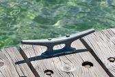 船坞夹板 — 图库照片