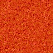 Abstrakt mit kreisförmigen linien — Stockvektor