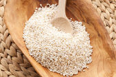 Amaranth popping, gluten-free, high protein grain cereal — Stock Photo