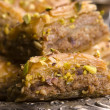 Baklava - traditional middle east sweet desert - Stock Photo