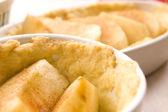 Apfelkuchen zutaten — Stockfoto