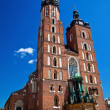 Stock Photo: Mariacki Church In Krakow