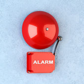 Red alarm — Stock Photo