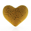 Royalty-Free Stock Photo: Golden heart