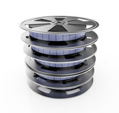 Reels stack — Stock Photo