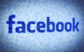 Facebook tekst — Stockfoto