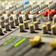 Equipment in audio recording studio — Stockfoto