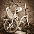 Royalty-Free Stock Photo: Old Child Tricycle