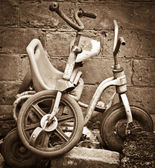 Old Child Tricycle — Stock Photo