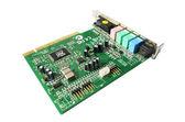 Computer sound blaster - audio card — Stock Photo
