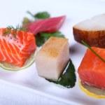 Fresh sashimi — Stock Photo