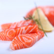 Fresh salmon - Foto Stock
