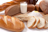 Bread bakery products — Stock Photo