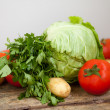 Fresh vegetables — Stock Photo #11531446