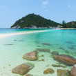 Beautiful ocean coast — Stock Photo