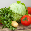Fresh vegetables — Stock Photo #11765267