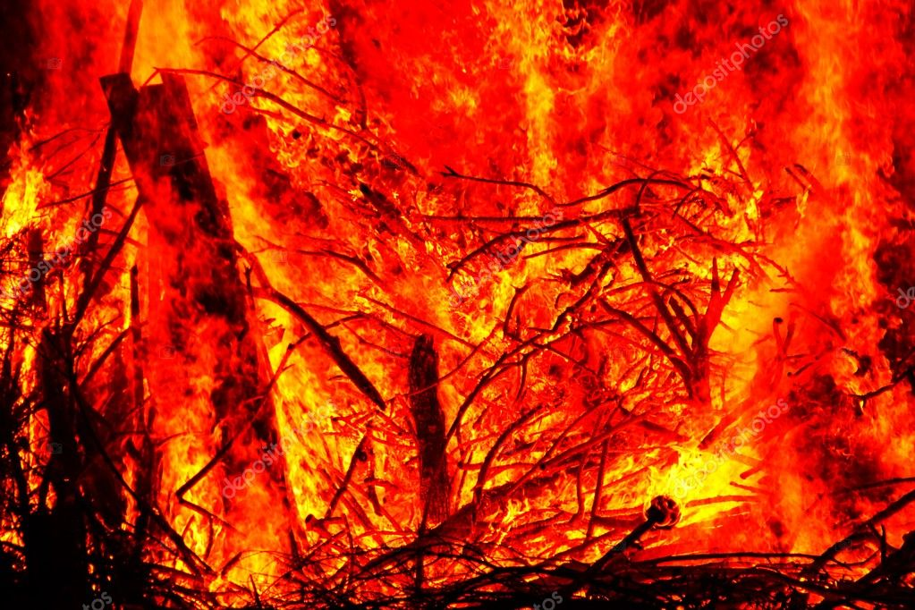 Detail view of a fire — Stock Photo #11331659