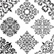 Arabesque set - Stock Vector