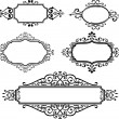Stock Vector: Ornate borders