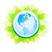 Zelená ikona — Stock vektor