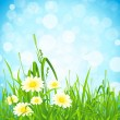 Flowers and Grass — Stock Vector #11600035