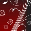 Abstract Floral Background - Stockvectorbeeld